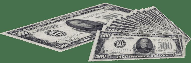 Money in sales job