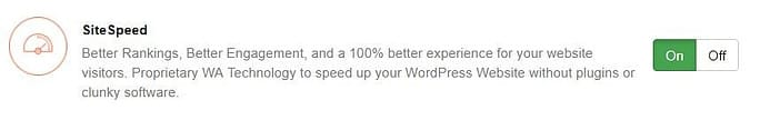 SiteSpeed offers faster WordPress experience