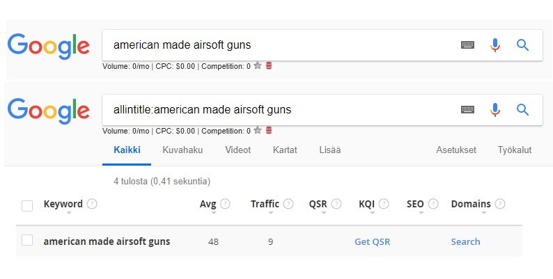American made airsoft guns search results