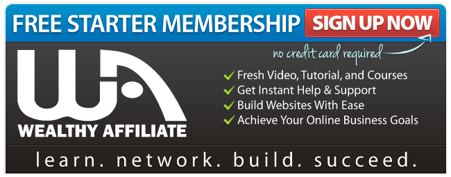Wealthy Affiliate ad banner