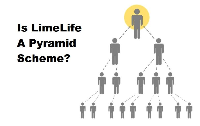 is LimeLife a pyramid scheme
